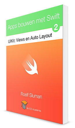 eBook: iOS Apps bouwen met Swift deel 2: Views en Auto Layout